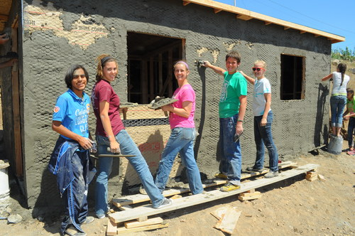Building a home at Project Mexico