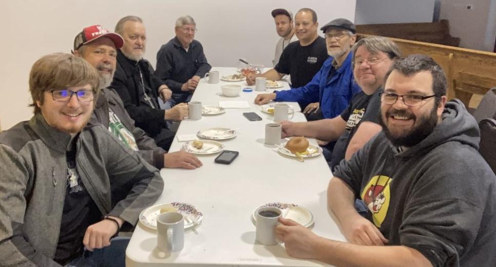 Antiochian Men at Breakfast