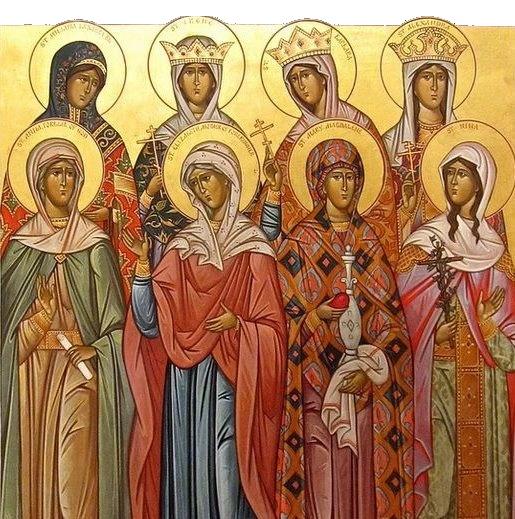 The Myrrh Bearing Women - Servants of Christ